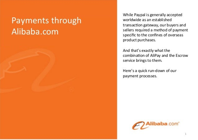 While  Paypal  is  generally  accepted   worldwide  as  an  established   transac5on  gateway,  our...