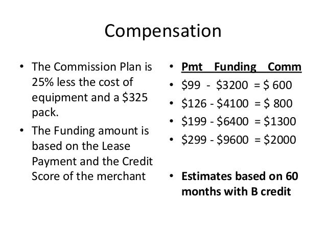 how to structure a sales commission plan