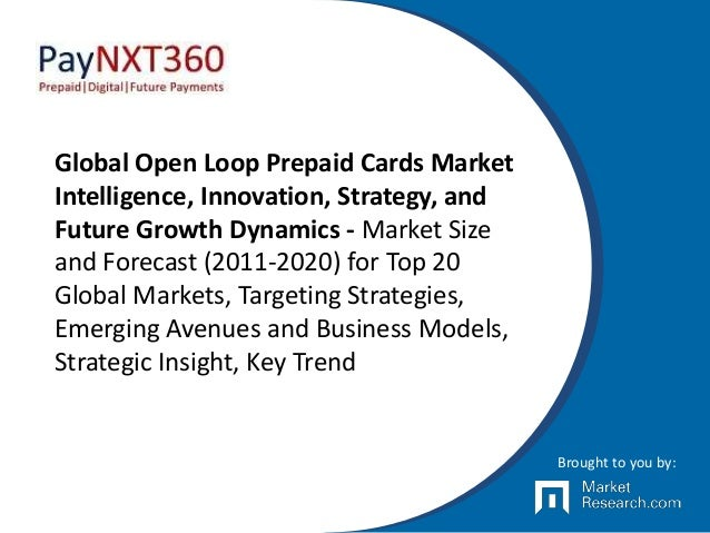 Global Open Loop Prepaid Cards Market Intelligence, Innovation, Strategy, and Future Growth Dynamics - Market Size and For...