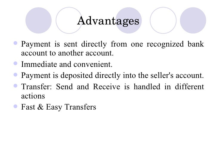 Advantages Of Paypal