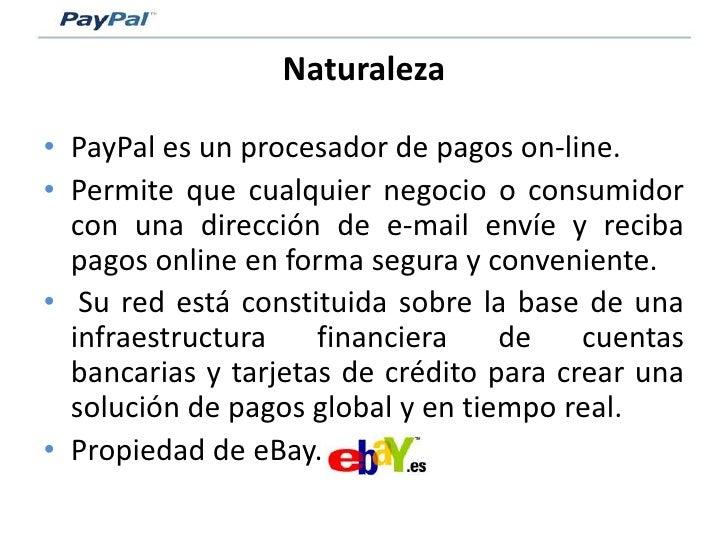 Pay Pal   Modelo De Negocio Slide 2