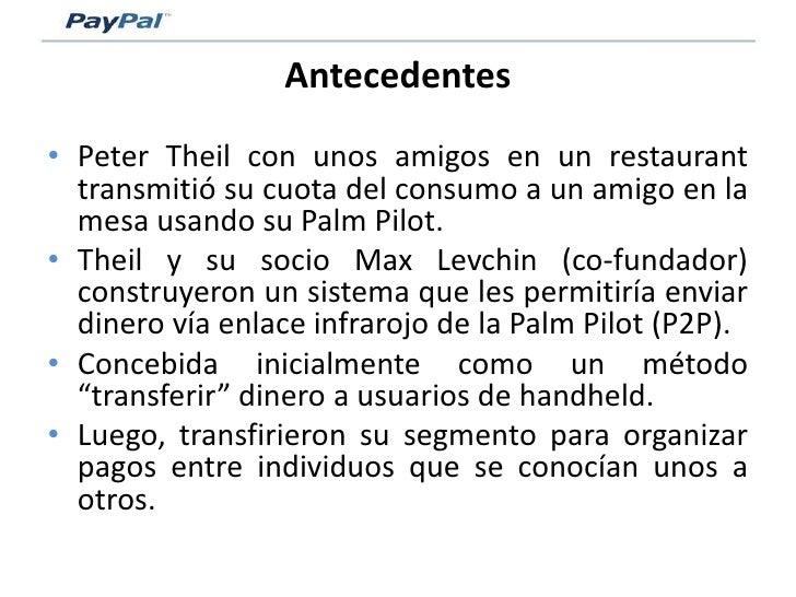 Pay Pal   Modelo De Negocio Slide 3