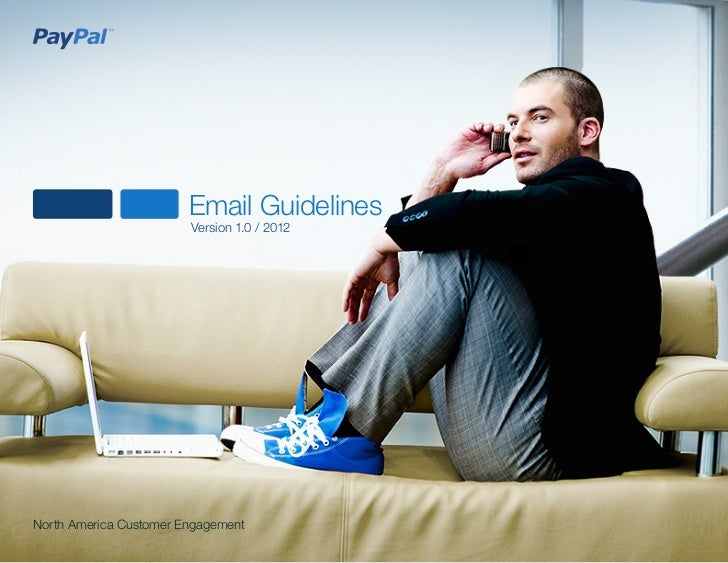 Email Guidelines                        Version 1.0 / 2012North America Customer Engagement