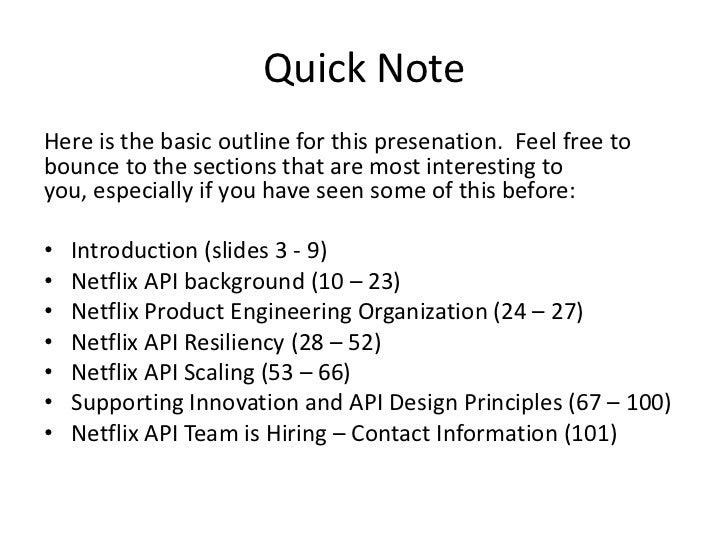 Netflix API - Presentation to PayPal Slide 2