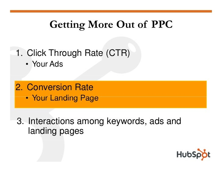How to Get the Most Out of Pay Per Click Slide 24