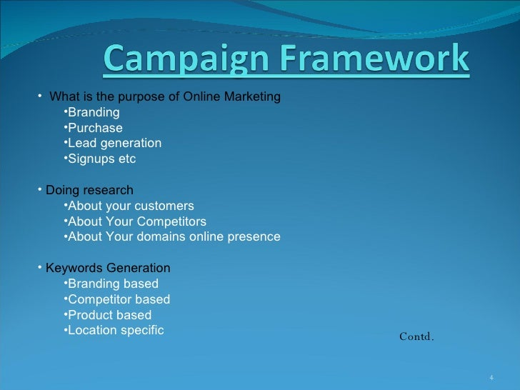 pay per click or ppc proposal