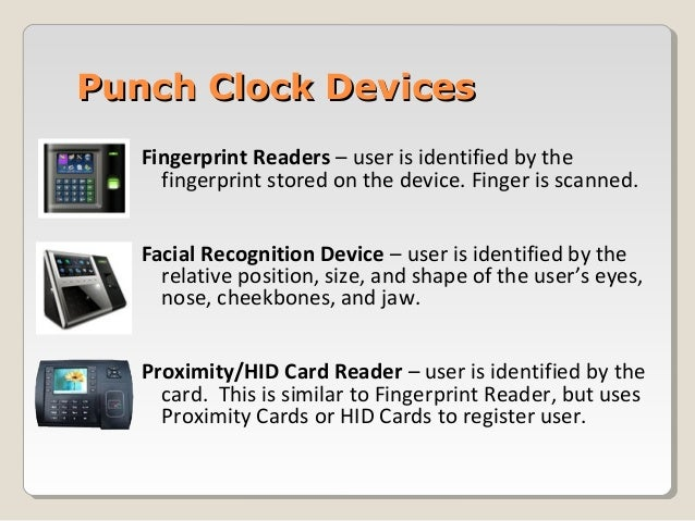 PayPunch Biometric Time and Attendance Solution