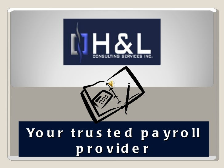 Your trusted payroll provider