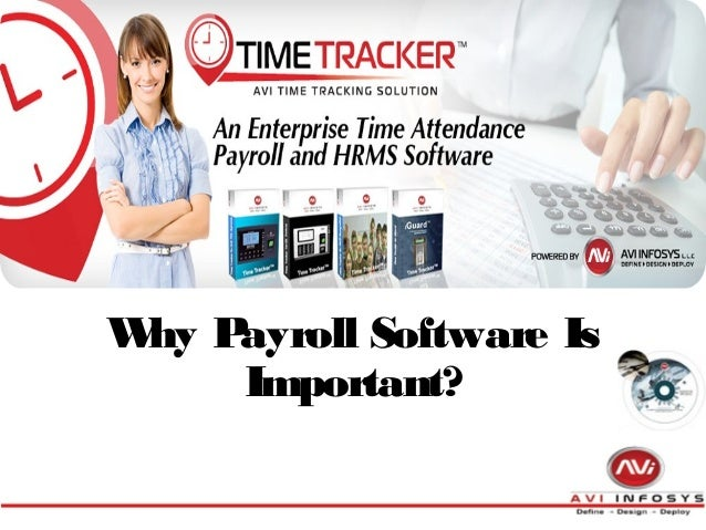 Why Payroll Software Is Important?