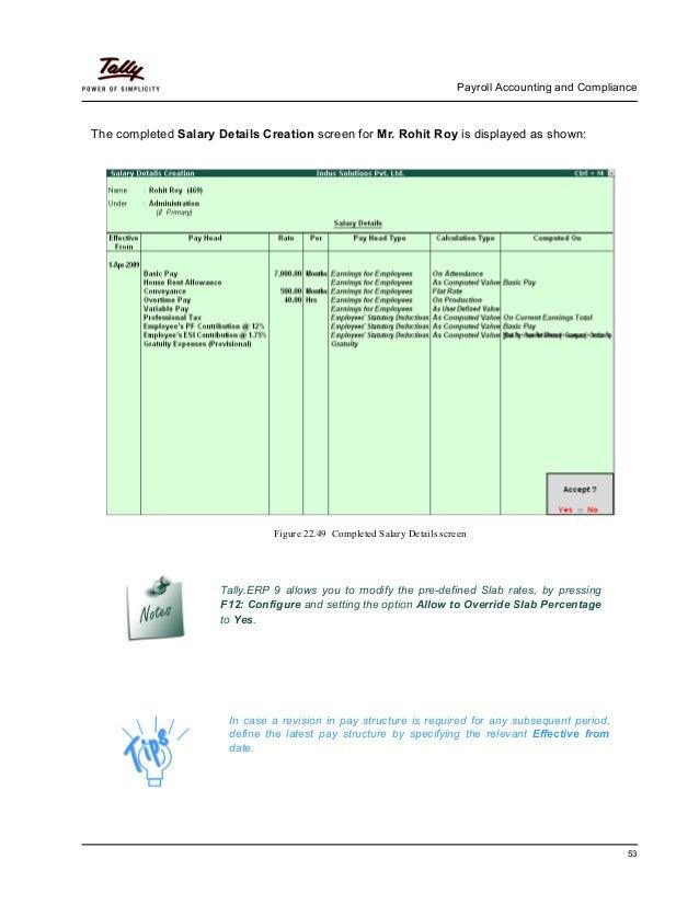 Doc554628 Employee Salary Slip Format Pdf Sample Salary Slip – Payroll Slip Format