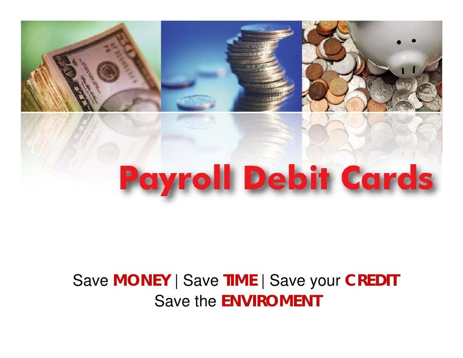 Save MONEY | Save TIME | Save your CREDIT        Save the ENVIROMENT
