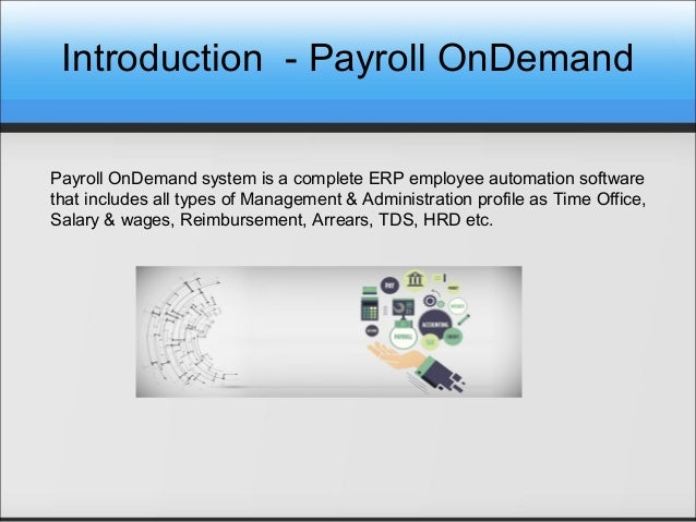 HR Payroll Management Software - Payroll OnDemand