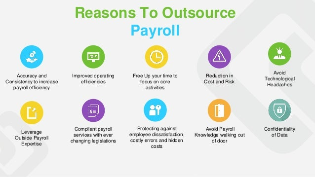 Reasons to outsource Payroll