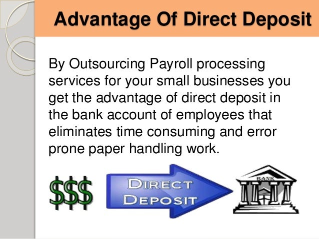 direct deposit small business