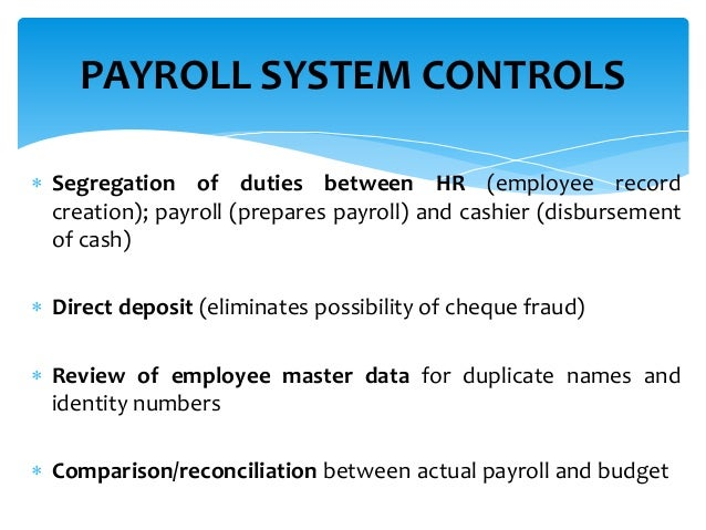remuneration monitoring 17 - Payroll Duties