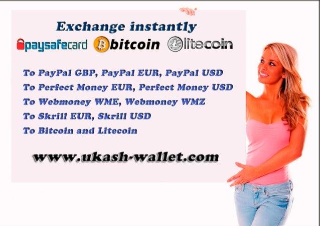 Bitcoin Paysafecard