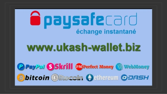 Échangez instantanément Paysafecard contre PayPal, Skrill, Perfect Money, Webmoney, Bitcoin, LTC, ETH, DASH.