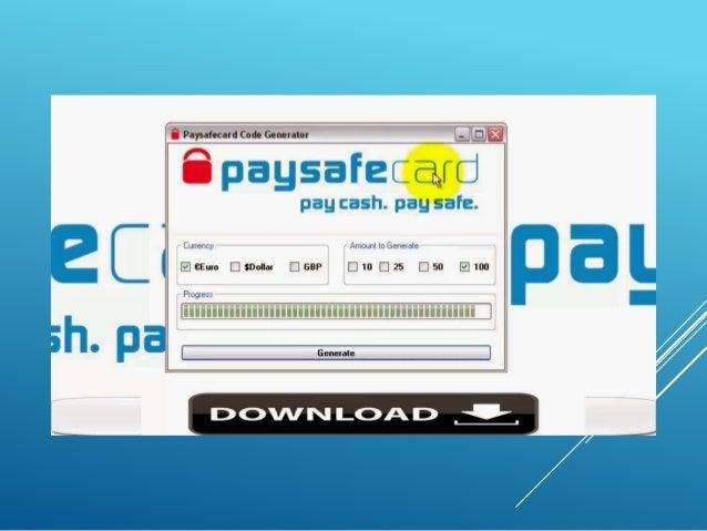 paysafecard code generator