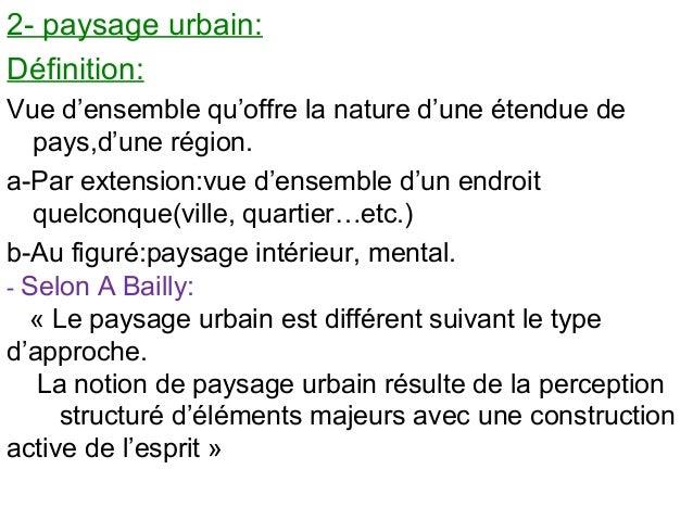 description d un paysage