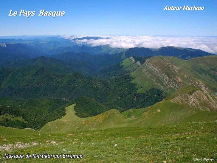 Auteur MarianoLe Pays Basque                                  .