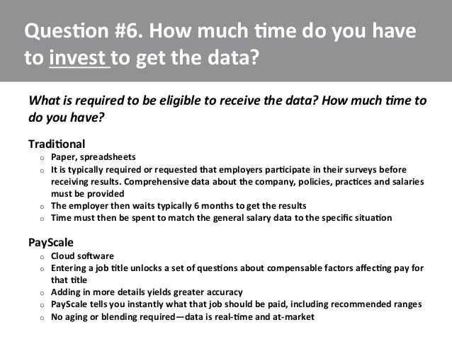 Pay scale presentation 7 questions to ask about salary data sources 12 malvernweather Choice Image