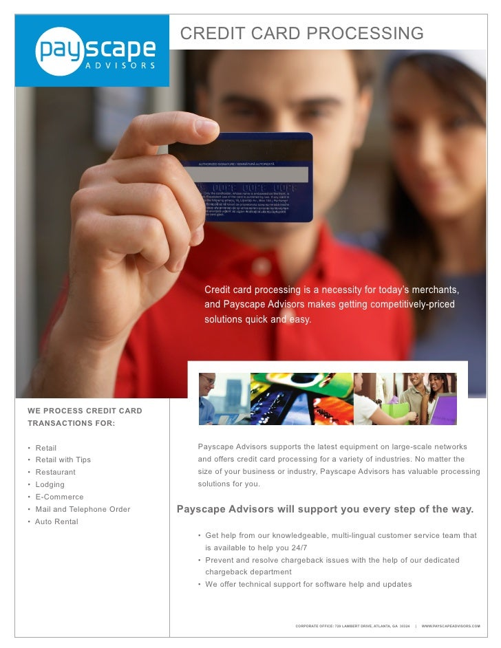 Payscape Credit Flyer
