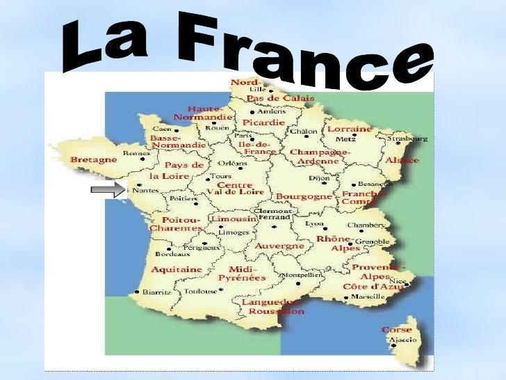 <ul>La France </ul>