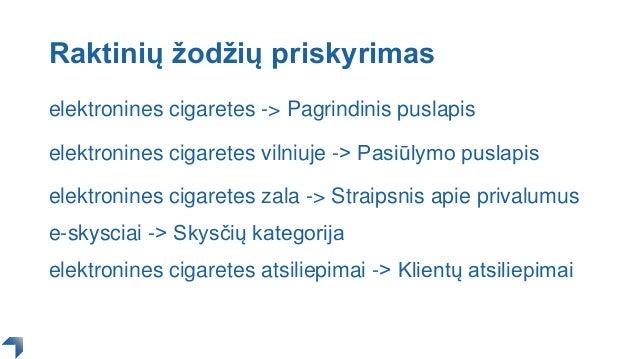 Raktinių žodžių priskyrimas elektronines cigaretes -> Pagrindinis puslapis elektronines cigaretes vilniuje -> Pasiūlymo pu...