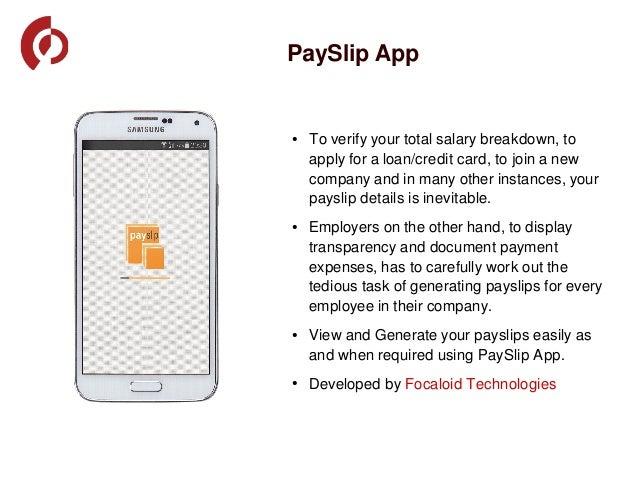 Payslip App