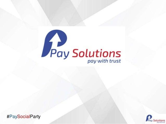 #PaySocialParty