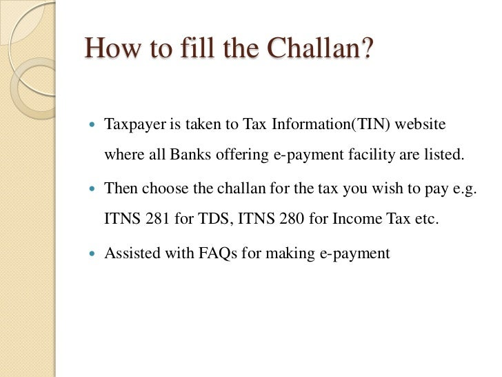How to Pay taxes online