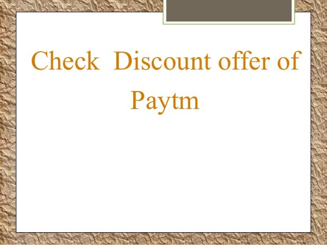 Paytm coupons coupons