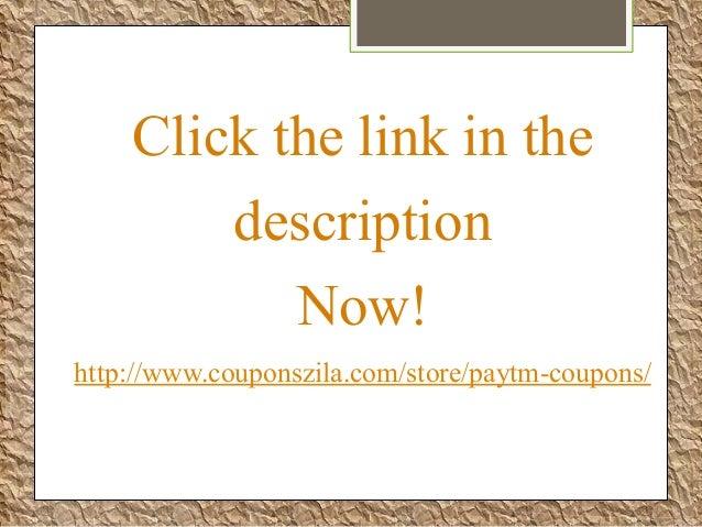Paytm coupon code