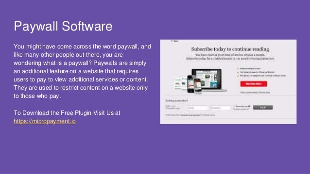 Bypass Paywall Website