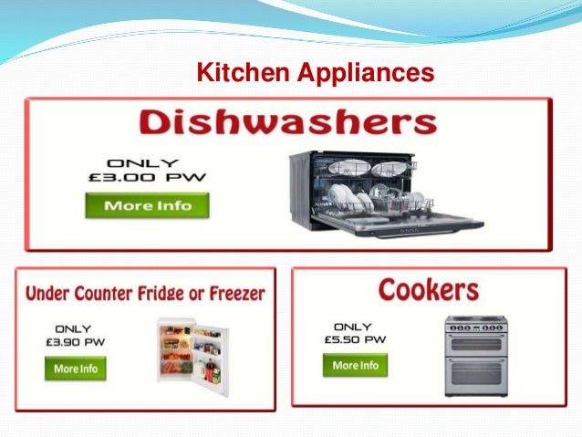 Pay Weekly Electricals and Appliances in UK