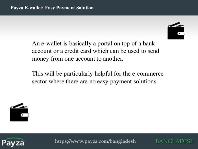 Payza Bangladesh Introduces E-Wallet Service for Internet