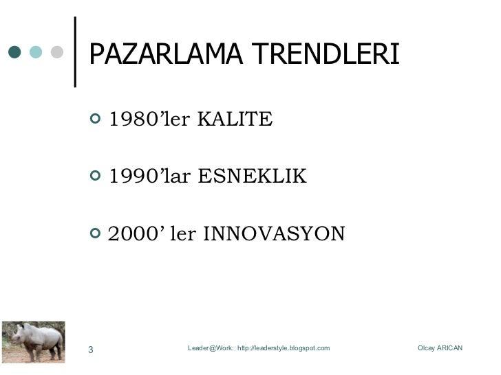 Pazarlama Trendleri Slide 3