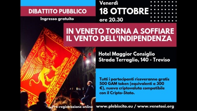 """Argomenti ✴ Moderatore: Francesca Chizzali ✴ Saluti da coordinatori territorio: Marzia Taschetto ✴ Dibattito: """"IN VENETO T..."""