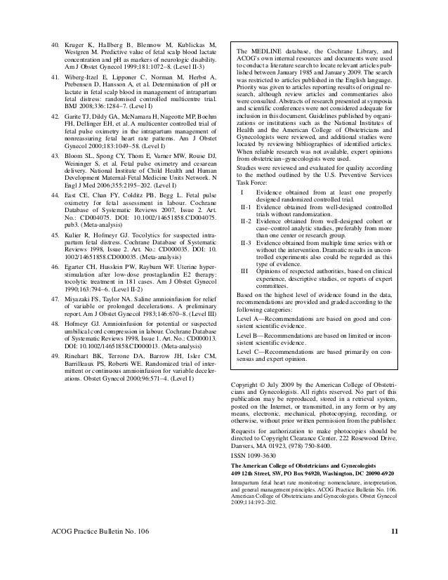 intrapartum articles