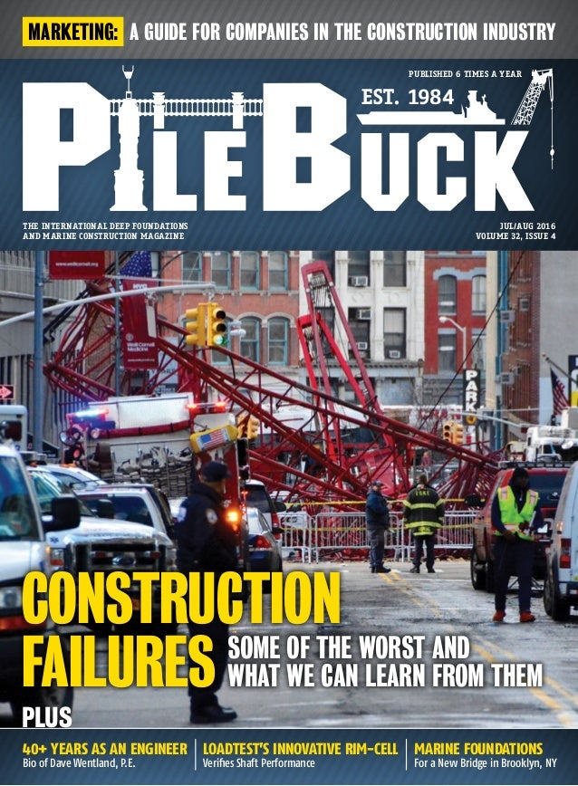 marine foundations For a New Bridge in Brooklyn, NY The international deep foundations and marine construction magazine ES...