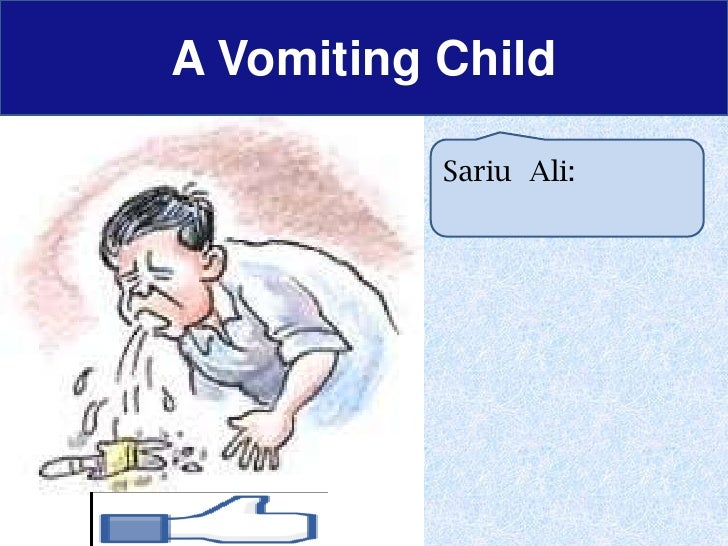 A Child with Vomiting (problem based approach)