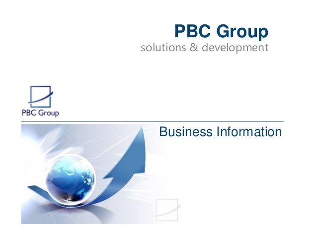 solutions & development PBC Group Business Information