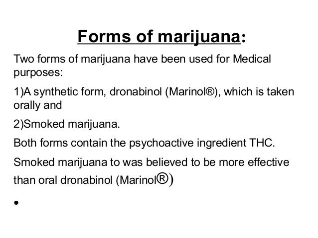 ethics in medical use of marijuana