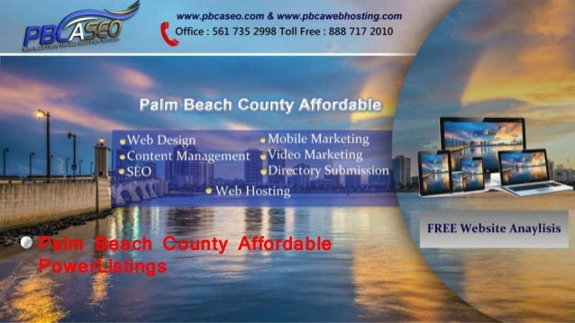 Palm Beach County Affordable PowerListings