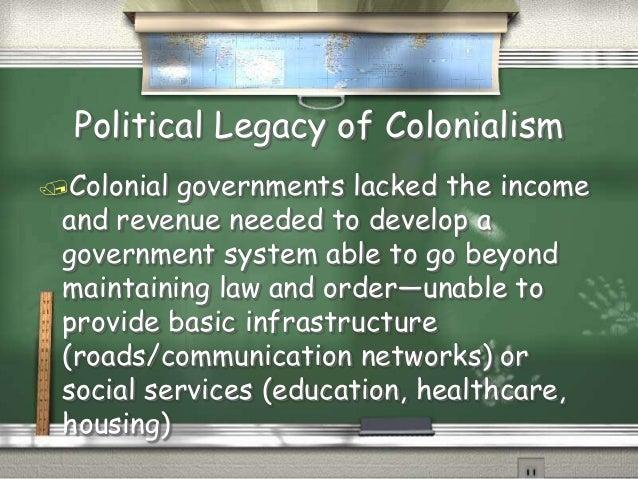 Legacies of colonialism in Africa