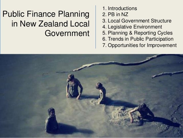 Participatory Budgeting & Public Finance Planning in New Zealand Slide 2