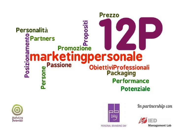 12P per il tuo piano di marketing personale