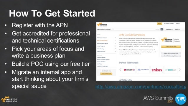How To Get Started • Register with the APN • Get accredited for professional and technical certifications • Pick your a...