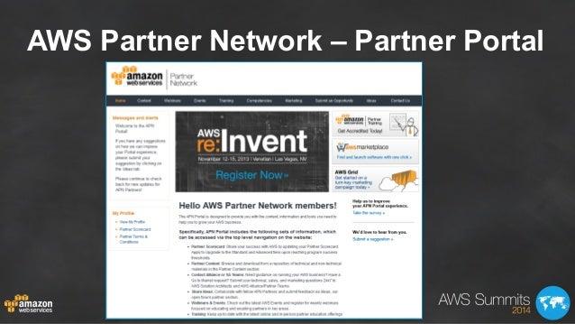 AWS Partner Network – Partner Portal