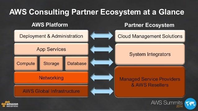 AWS Consulting Partner Ecosystem at a Glance AWS Platform Partner Ecosystem